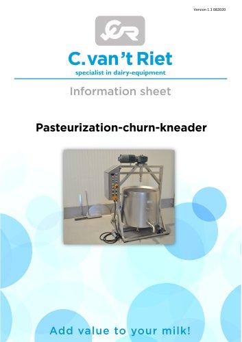 Butter churn - vertical