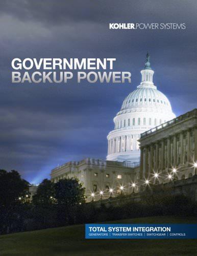 Government Backup Power Brochure