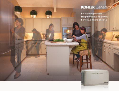 Kohler Home Generators Full Line Brochure