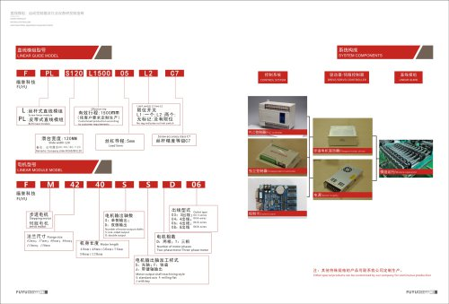 linear motion system components
