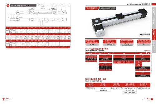 Long Stroke Belt Driven Linear Actuator