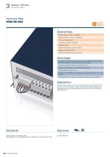 Harmonic filter HFM-FB 400
