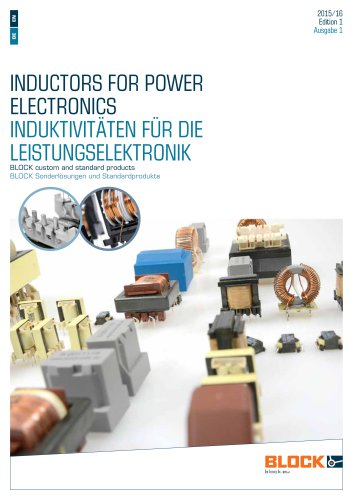 Inductors for power electronics