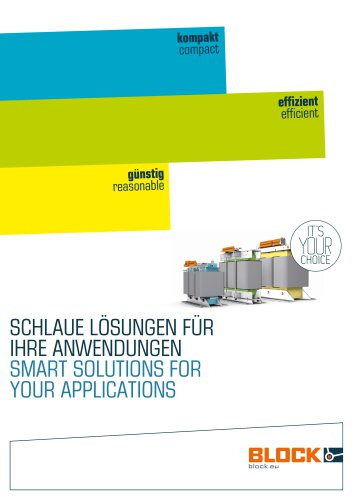 Smart solutions for your applications