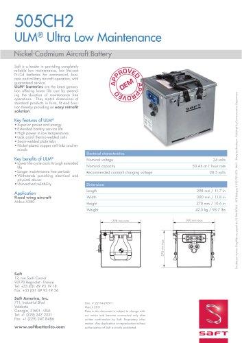 505CH2 ULM® Ultra Low Maintenance