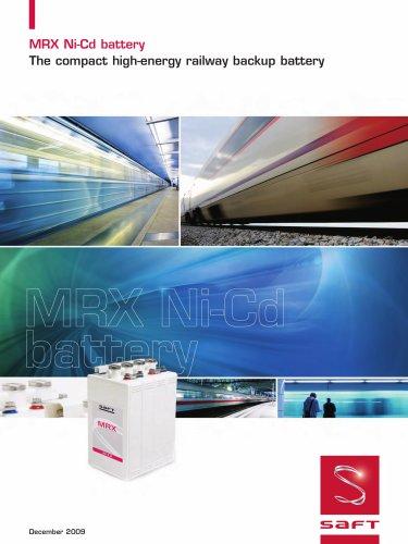 MRX Ni-Cd battery
