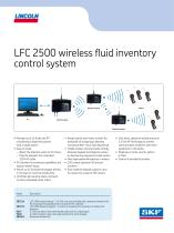 LFC 2500 wireless fluid inventory control system