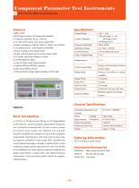 Tonghui DC Bias Current Source TH1773