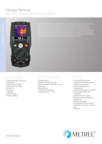 MD 9880 Multímetro Térmico TRMS