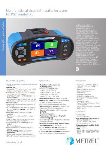 MI 3152 EurotestXC