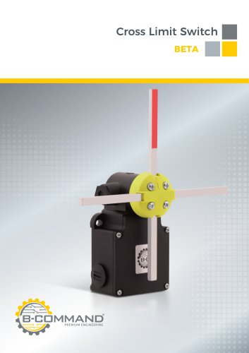 Cross Limit Switch Series Beta B-COMMAND