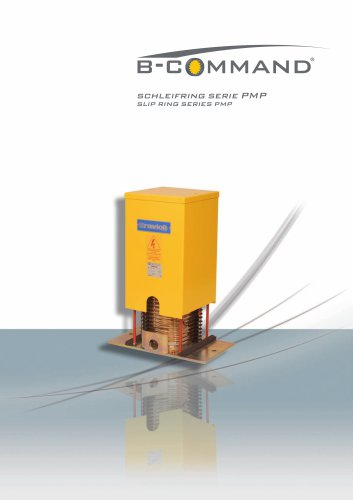 Slip ring Series PMP B-COMMAND