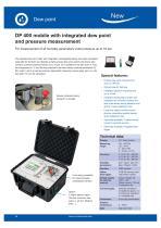 Data sheet DP 400 mobile