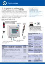 Hojas de datos técnicos DS 400 Set de punto de rocio