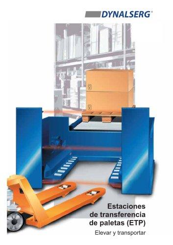 Estaciones de transferencia de paletas ETP