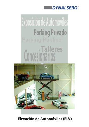 Mesas elevadoras para automóviles ELV