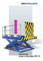 Mesas elevadoras para carga y descarga MH-V