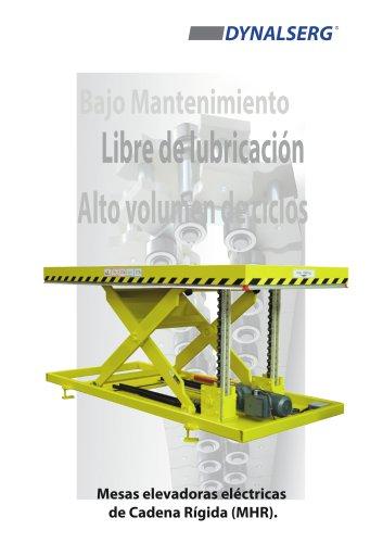 Mesas elevadoras eléctricas de cadena rígida MH-R