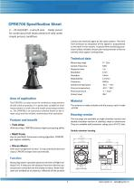 CPR6700 Specification Sheet