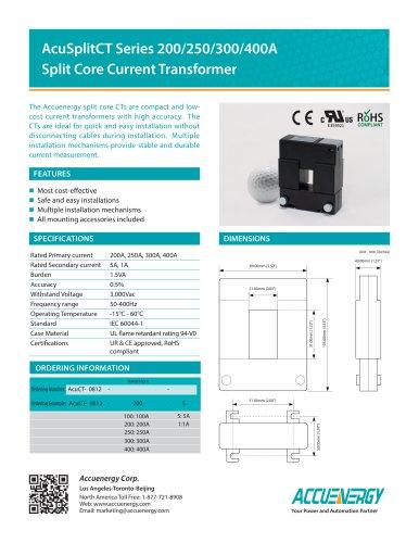 5A Split Core Current Transformer