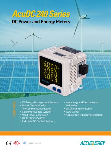 DC Power and Energy Meter