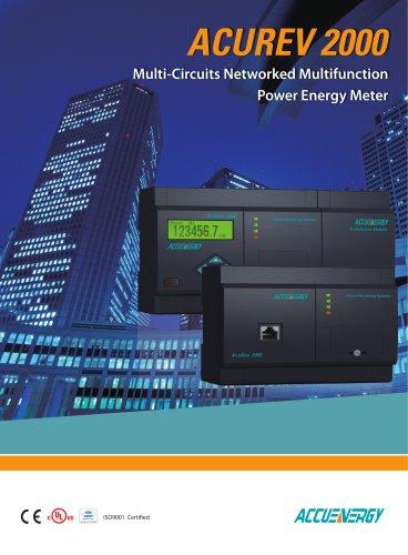 Multi-Circuit Power and kWh Meter