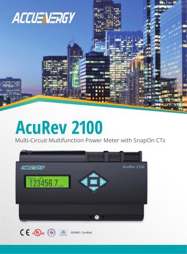 Multi-Circuit Submeter AcuRev 2100 Series