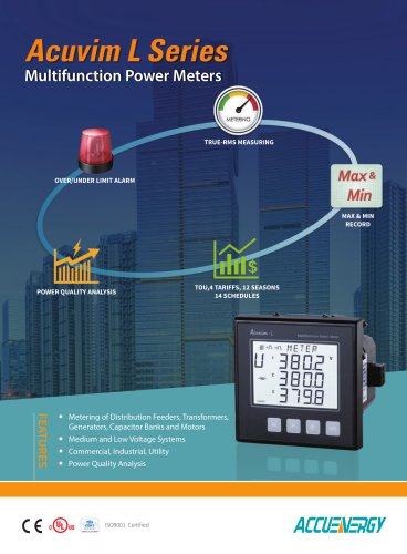 Power And Energy Panel Meters