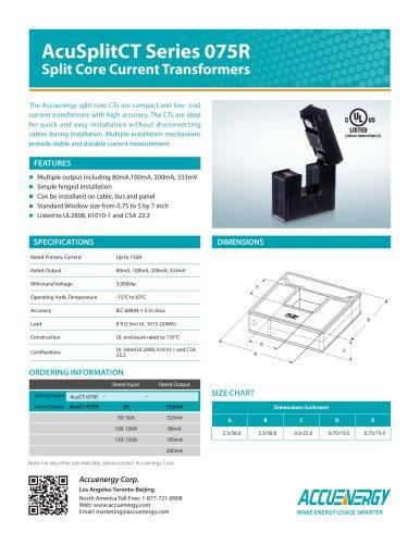 Revenue Grade Split Core Current Transformer