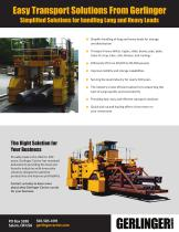 Gerlinger Carriers for Steel and Metals Industries