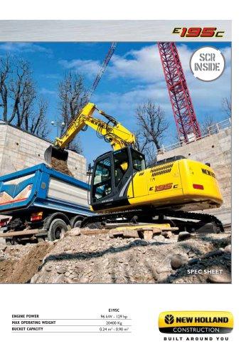 Crawler Excavators E195C