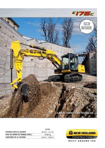 Excavadoras de cadenas E175C