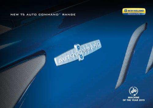NEW T5 AUTO COMMAND™ RANGE