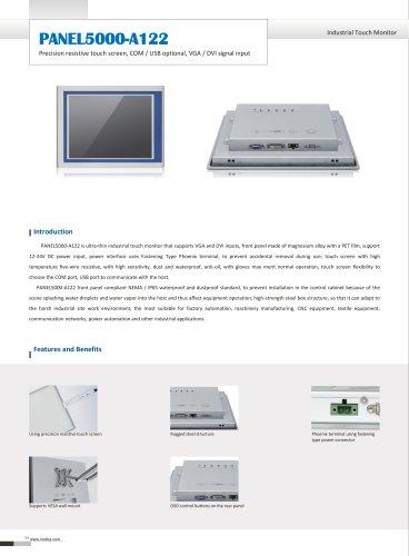 PANEL5000-A122 Datasheet
