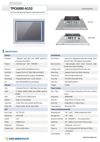 TPC6000-A152 Datasheet