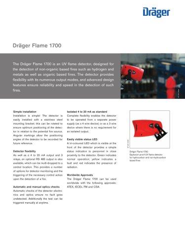 Dräger Flame 1700