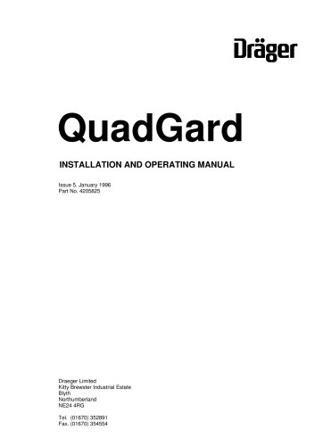 Dräger QuadGard