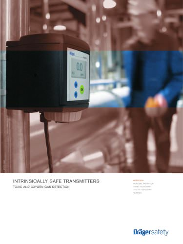 Intrinsically Safe Transmitters (Toxic and Oxigen Gas Detection)