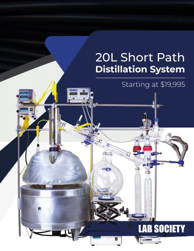 20L Short PathDistillation System