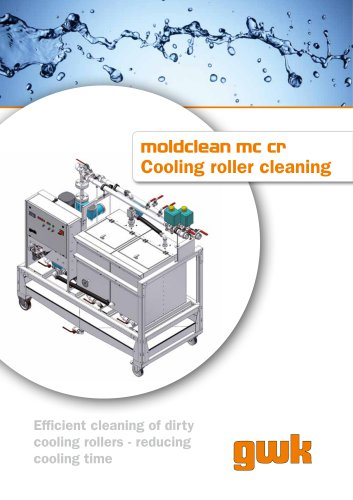 moldclean mc cr Cooling roller cleaning