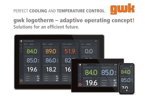 PERFECT COOLING AND TEMPERATURE CONTROL