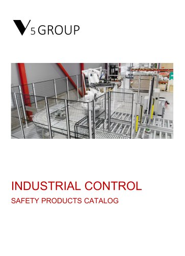 V5 Group SAFETY PRODUCTS CATALOG