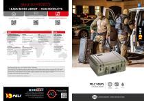 Peli Cases Catalogue 2017