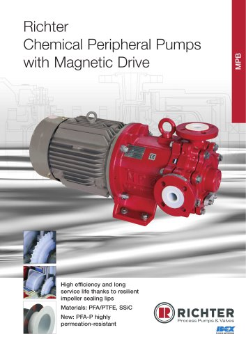 Chemical Peripheral Pumps with Magnetic Drive
