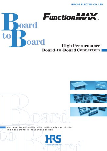 High Performance Board-to-Board Connectors