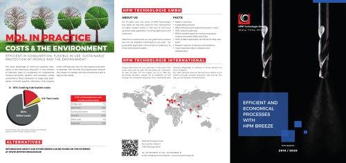 Efficient and economical processes wit HPM Breeze