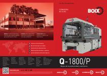 Nueva Boix Q-1800/P Máquina Formadora de cajas