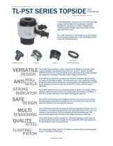 TL-PST SERIES TOPSIDE   BOLT TENSIONERS