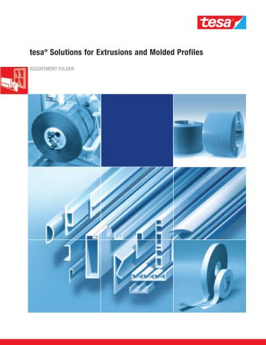 tesa® Solutions for Extrusions and Molded Profiles