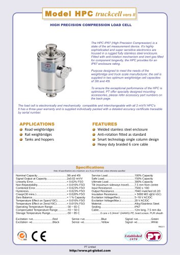 HPC Compression IP67 sealed